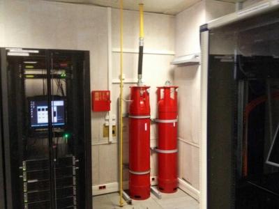Газовое пожаротушение дата центров