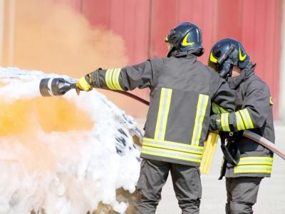 Установка водопенного пожаротушения