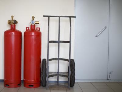 ТО газового пожаротушения