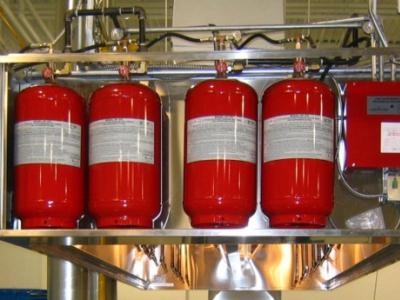 Газовое пожаротушение для электросиловых установок