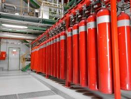 Установка газового пожаротушения