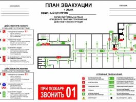 Создание плана эвакуации
