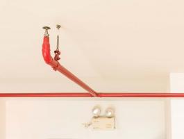 спринклерная установка пожаротушения